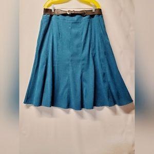 NWT  Teal maxi skirt